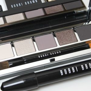 Bobbi Brown gray stone eye Palette new
